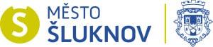 Mesto Sluknov+znak-logotyp-AI