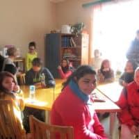 2016 - studenti na exkurzi v Denním centru (2)