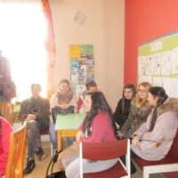 2016 - studenti na exkurzi v Denním centru (3)